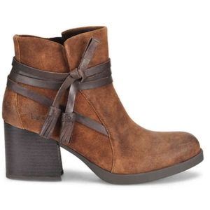 B.O.C - Amber Western ankle botties distressed